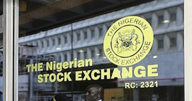 Month-to-date and year-to-date returns on Nigerian bourse increased to 2.0% Monday