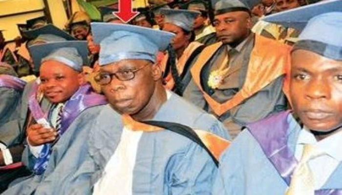 First NOUN PhD: Dickson congratulates Obasanjo, advocates support for education