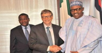 Bill Gates faults Buhari's Economic Blueprint