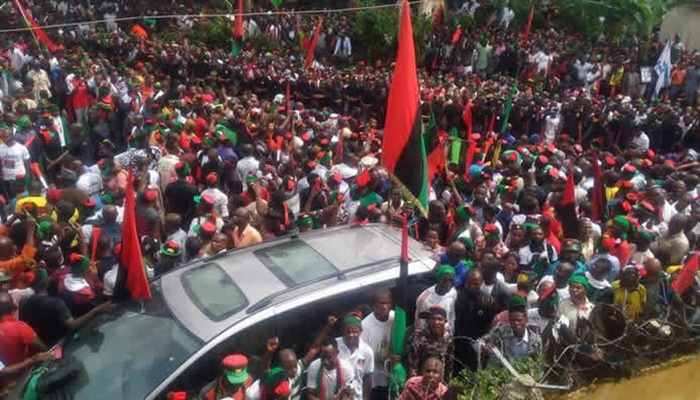 IPOB says agitations for secession not an offense under Nigerian laws