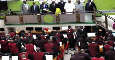 Equities market records 7th consecutive negative session as Index down 0.84% Thursday