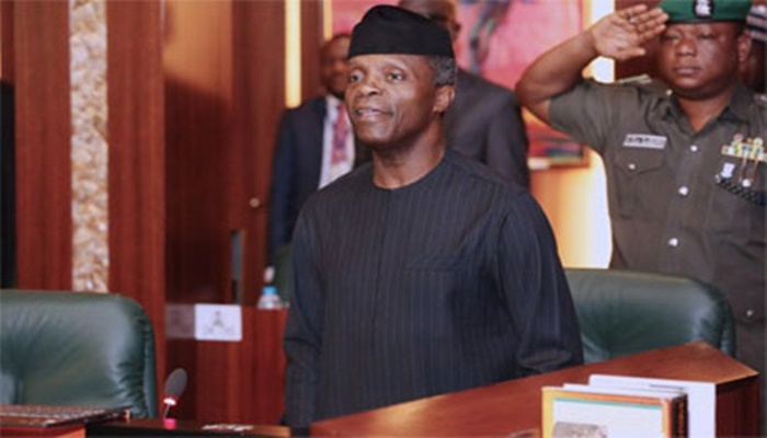 Osinbajo presides over FEC meeting with 18 ministers in attendance