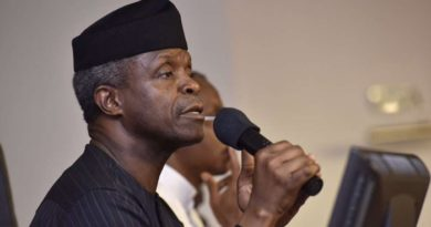 Govt must support those who function at bottom of pyramid says Osinbajo
