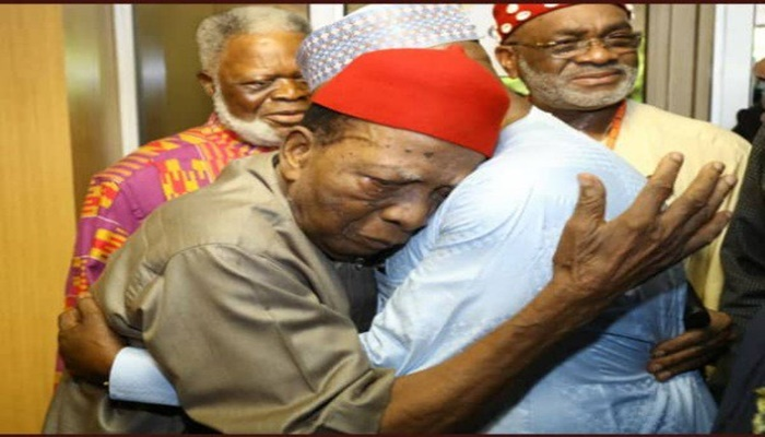 Nwabueze to Atiku: 'I will not die until you become president'