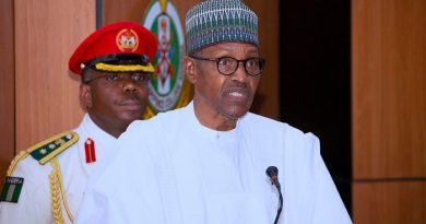 Buhari's speech at signing into law of revised 2020 budget