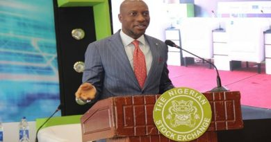 Nigerian bourse records N20bn loss Friday