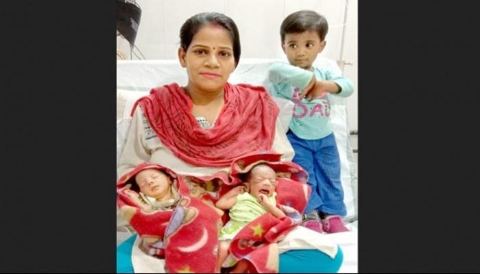 "Coronavirus: Indian couple names newborn twins ""Corona and Covid"""