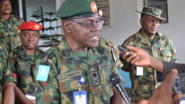 Senate confirms Faruk Yahaya as Chief of Army Staff