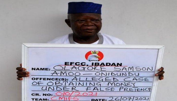 Baale docked for land scam in Ibadan