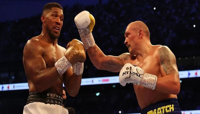 ICYMI: 'I couldn't see anything in ninth round', Anthony Joshua narrates how Usyk beat him
